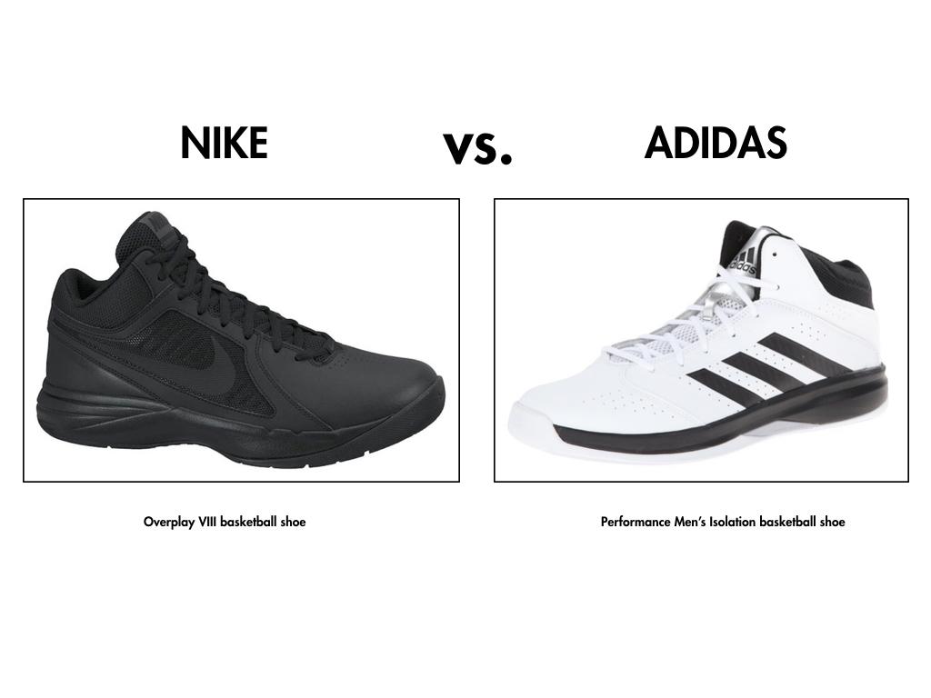 chaussures nike ou adidas